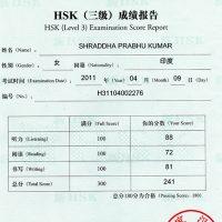 HSK Level-3 Certificate